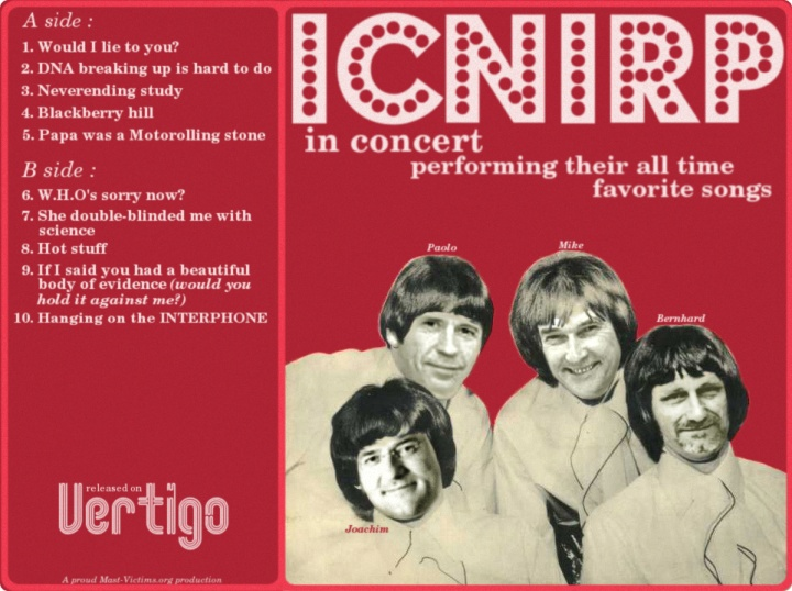 ICNIRP in concert! click for full-size version